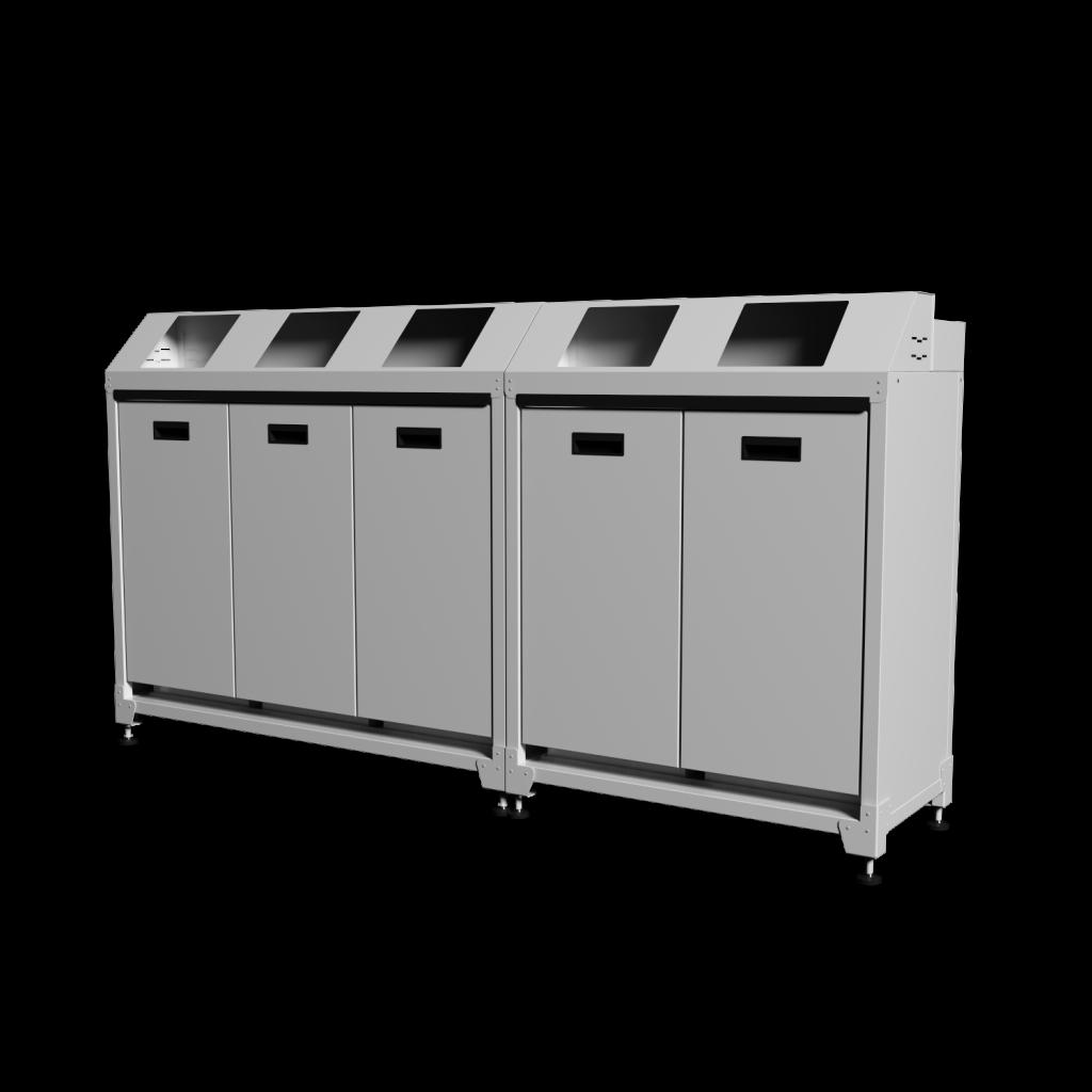 contenitore per rifiuti combo brisco interior