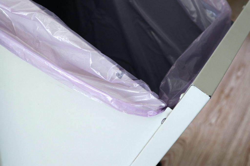dettaglio sacchetto nascosto